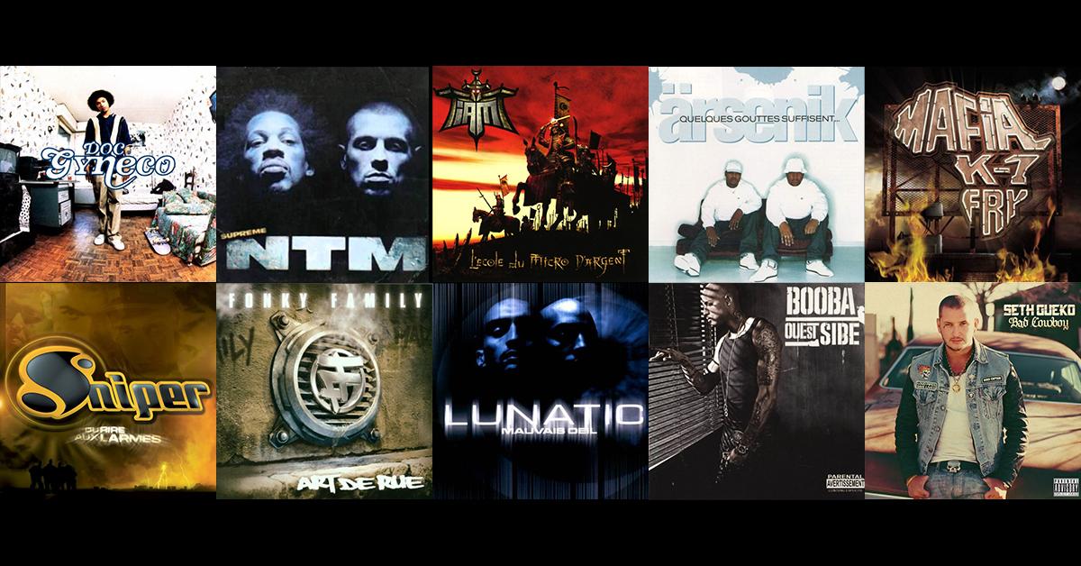 Album rap : Top 10 des meilleurs albums de rap français