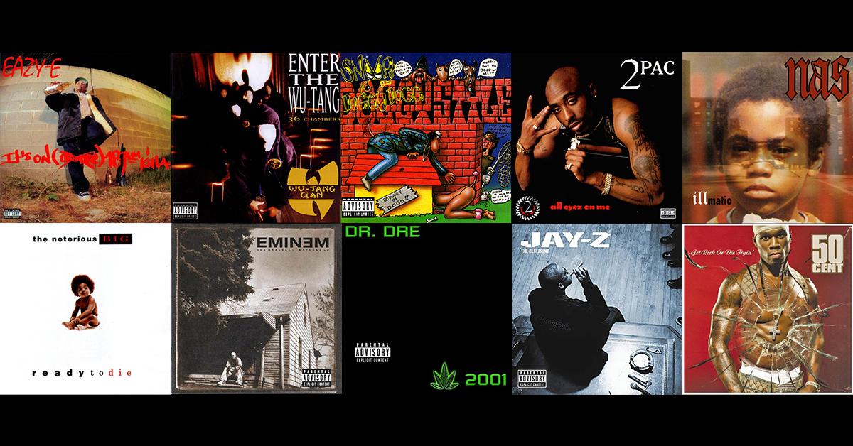 Album rap : Top 10 des meilleurs albums de rap US