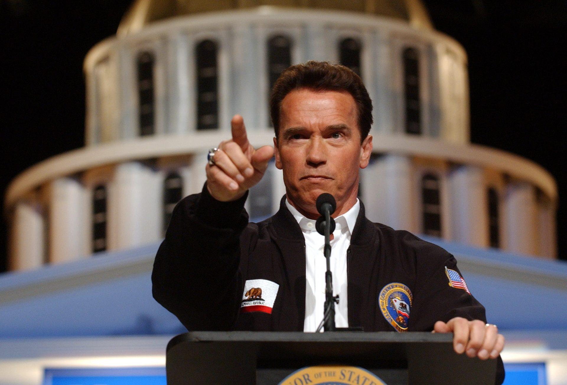 Arnold Schwarzenegger Gouverneur