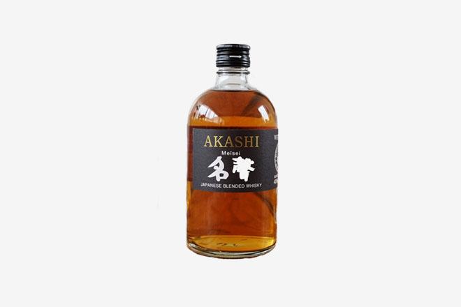 Bouteille de whisky Japonais Akashi Meisei
