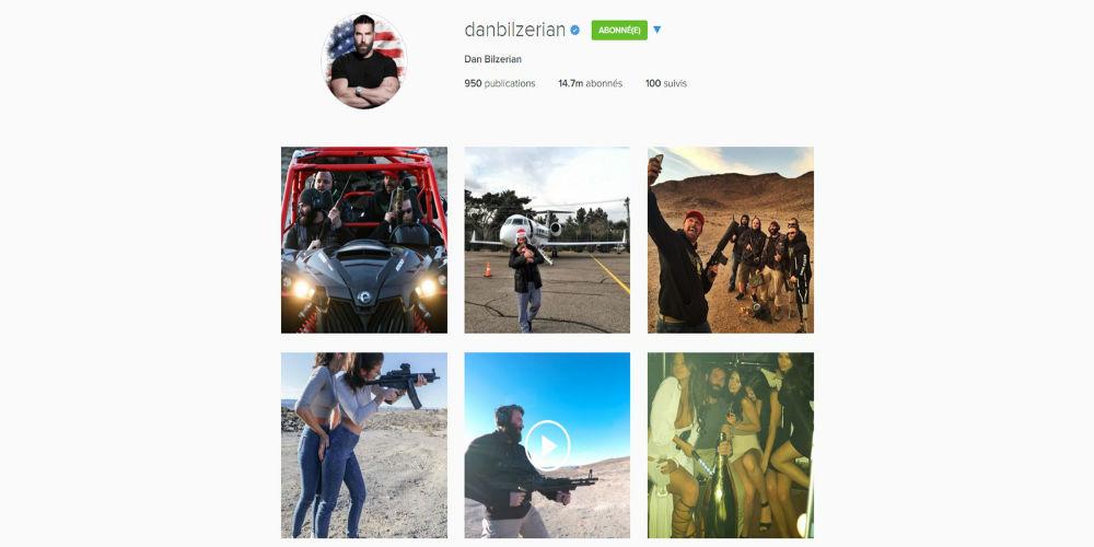 Dan Bilzerian Instagram