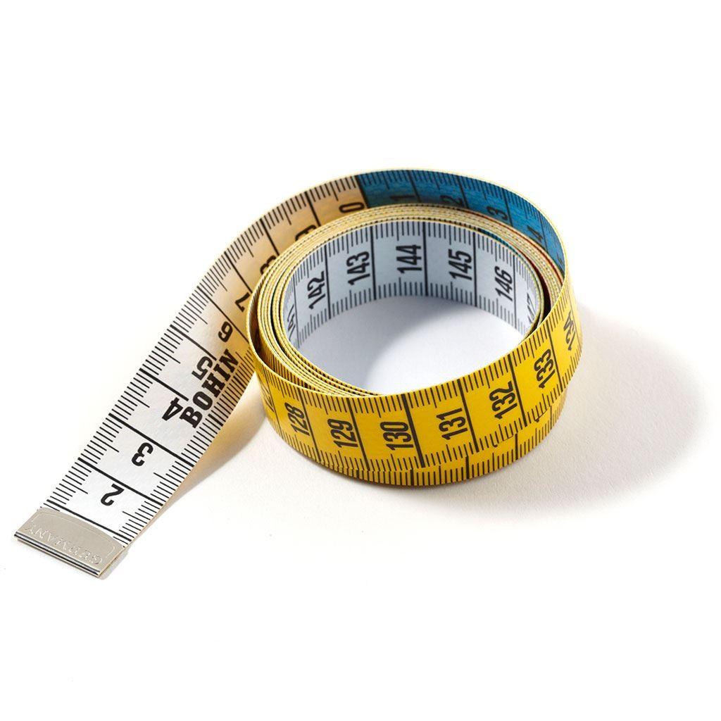 Mètre ruban - Guide des tailles homme