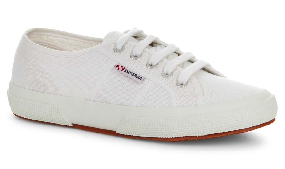 baskets en toile - Superga