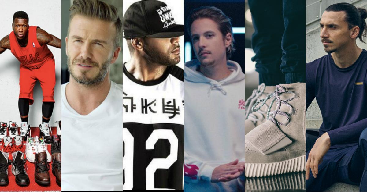 Les marques de sportswear homme lancées par des hommes déjà célèbres