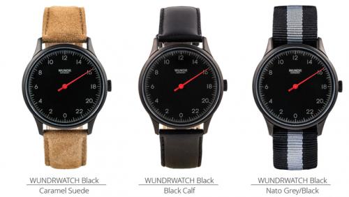 Wundrwatch - cadran noir