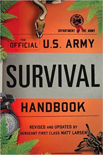 Livres de survie - Guide de survie de l'armée américaine