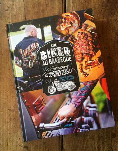 Livres de cuisine pour homme - Un biker au barbecue