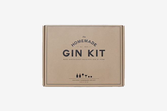 Guide Cadeaux Mixologiste - Home Made Gin Kit