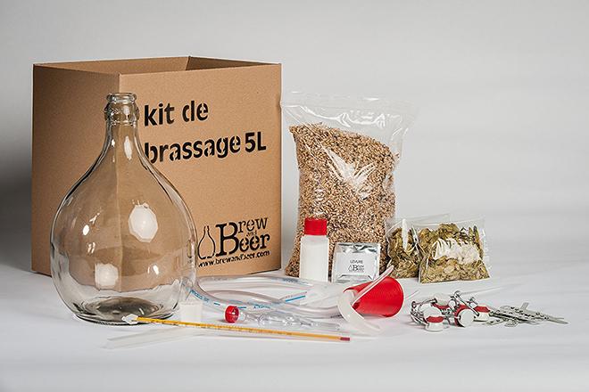 Idée Cadeaux - le fan de bière - Kit Brassage de Bière