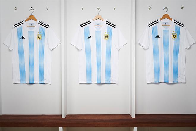 Argentine - Maillot domicile Coupe du Monde 2018