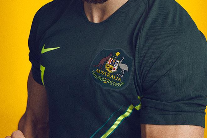 Australie - Maillot extérieur Coupe du Monde 2018