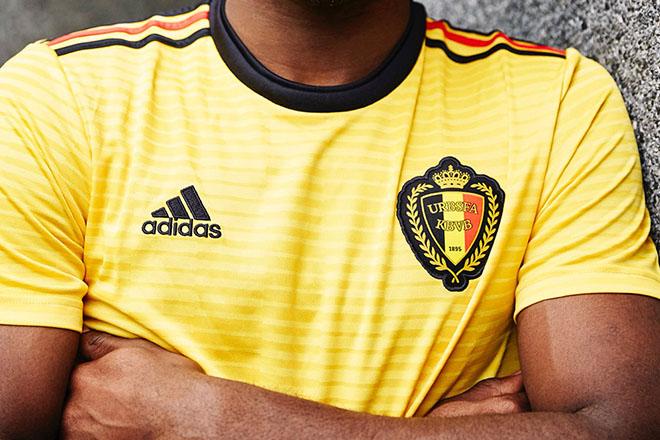 Belgique - Maillot extérieur Coupe du Monde 2018
