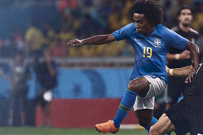 Brésil - Maillot extérieur Coupe du Monde 2018