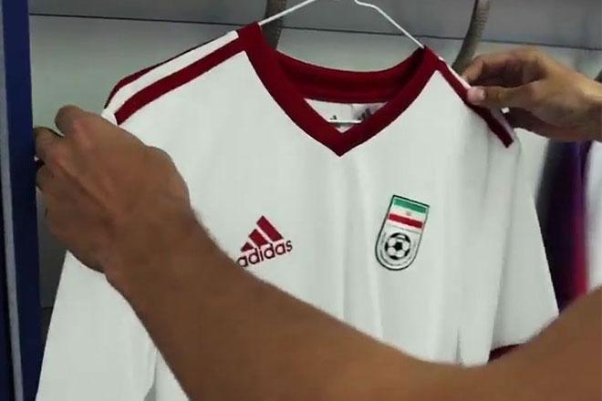 Iran - Maillot domicile Coupe du Monde 2018
