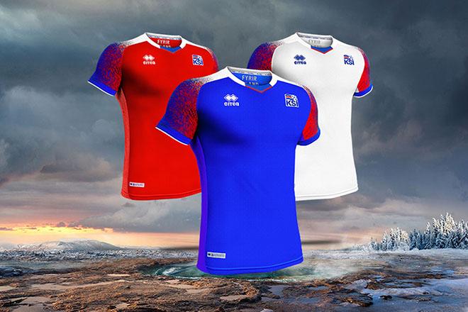 Islande - Maillot Coupe du Monde 2018