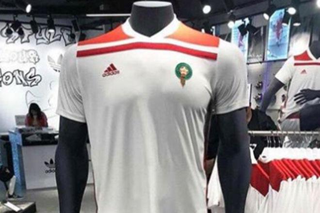 Maroc - Maillot extérieur Coupe du Monde 2018