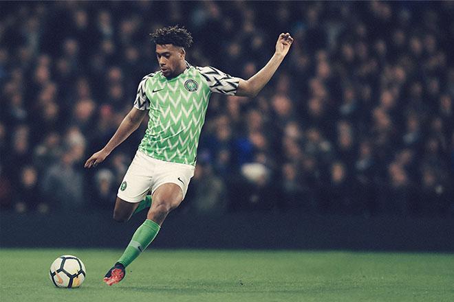 Nigeria - Maillot domicile Coupe du Monde 2018