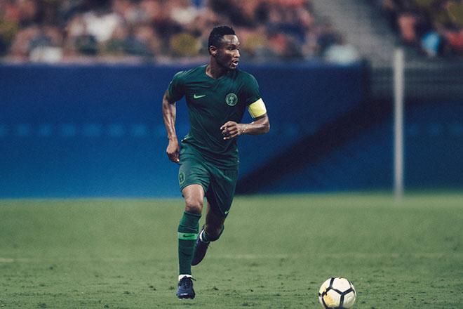 Nigeria - Maillot extérieur Coupe du Monde 2018
