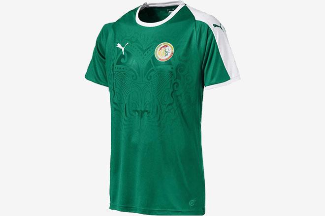 Sénégal - Maillot domicile Coupe du Monde 2018