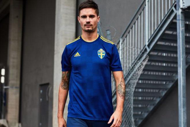 Suède - Maillot extérieur Coupe du Monde 2018