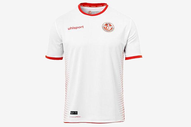 Tunisie - Maillot domicile Coupe du Monde 2018